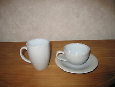MIKASA *NEW* BLUE HORIZON Tasse + soucoupe + chope Cup with coaster + mug