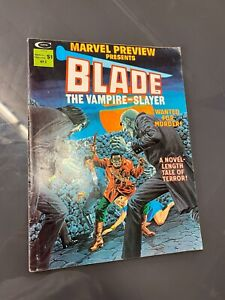 MARVEL PREVIEW PRESENTS #3 - BLADE APPEARANCE SOLO STORY