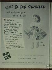 1954 Eegee's Susan Stroller Girls,Kids Toy Doll Ad