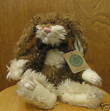 """Boyds Plush #58291-05 BEDFORD BONEAH 17""""  Rabbit, NEW/Tag From Retail Store"""