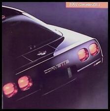1991 Corvette Prestige ZR-1 ZR1 ONLY Brochure, HUGE w Env!