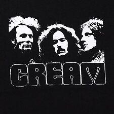 Cream band ***SMALL*** screen printed t-shirt Black punk retro