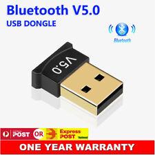 Mini Wireless USB Bluetooth V5.0 Dongle Adapter For Windows 7 8 10 PC Laptop Mac
