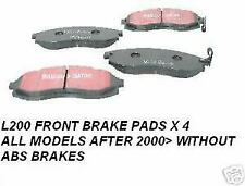 MITSUBISHI L200 2000> ANIMAL WARRIOR LIFE BRAKE PADS