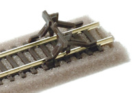 Peco SL-340 N Gauge Rail Built Type Buffer Stop (Pack 2)
