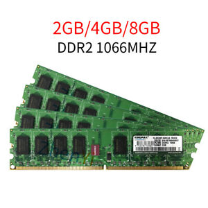 8GB 4GB 2GB DDR2 1066MHz PC2-8500U 240Pin OC DIMM RAM Desktop Memory For Kingmax
