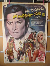 A3747 Un muchacho como yo Palito Ortega,  Osvaldo Miranda,  Soledad Silveyra,  B