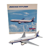 Herpa Wings Boeing 777-200 Model Airplane 1:500 Scale 506366 Miniature Metal