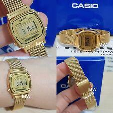 LATEST CASIO LA670WGM-9D LA670G VINTAGE DIGITAL LADIES GOLD WATCH NEW