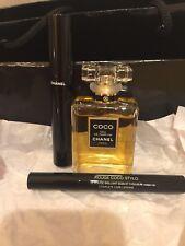 Coco Chanel Eau De Perfume 1.2 OZ ,Mascara & Rouge Lip Shine