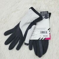 Isotoner Women's SmarTouch Matrix Nylon and Fleece Glove with Topstitch Detail