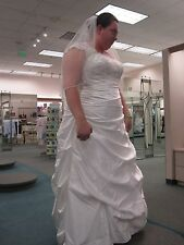 Brand new Davids Bridal wedding dress (never worn or tried on)