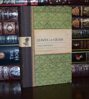 New Leaves of Grass by  Walt Whitman Deluxe Collectible Hardcover Classics