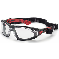 f2baa3565c Bolle Rush Plus Gafas De Seguridad Negro/Rojo Templos Claro antiniebla lente