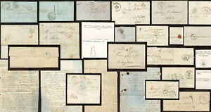FRANCE EARLY COVERS LETTRES 1827-47 Postmarks Rates Postal History PRICED SINGLY