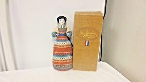 """1981 Avon American HerloomPorcelain Head Sachet 11"""" Doll-Lavender Scent"""