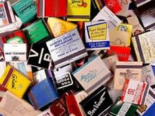 1 Pound Assorted BULK MATCHBOOK COVERS - Approx 65 Full Match Books