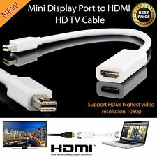 Mini Display Port Thunderbolt Enchufe Macho a HDMI Hembra 15 Cm Adaptador [007684]