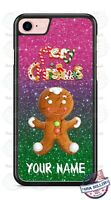 Merry Christmas Gingerbread Man Phone Case For iPhone Samsung Note 20 LG Google