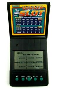 Radica Winner Slot Handheld Digital Slot Machine Game Tested/Works Great