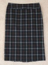 Cue Wool Plaids & Checks Women's Skirts