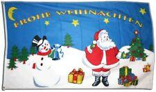Fahne Frohe Weihnachten Flagge weihnachtliche Hissflagge 90x150cm
