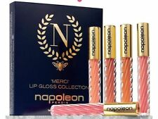 "NAPOLEON PERDIS ""Merci"" Lip Gloss Collection Gift Pack Set Valued $145 NIB"