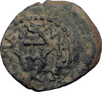 ALEXANDER JANNAEUS Biblical Jerusalem Jesus Widow's Mite Greek Bible Coin i64087
