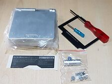 Nintendo Game Boy Advance SP Replacement Silver New Shell Housing with tools