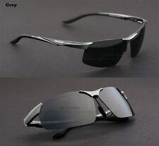 Genuine Veithdia Mens Polarized UV400 Aluminum Sunglasses Aviator with Hard case