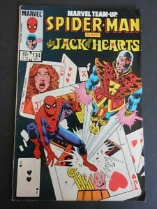 Marvel Team-Up SPIDERMAN and The JACK OF HEARTS  Vol. 1. #134 Oct 1983