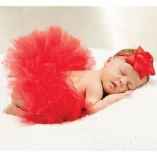 Mud Pie My First Christmas Newborn Baby Girl 1st Christmas Red Tutu 1172122