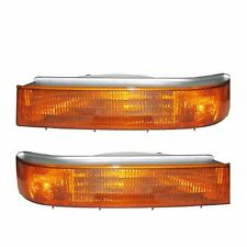 NEWMAR KOUNTRY STAR 1999 2000 2001 PAIR FRONT TURN SIGNAL LIGHTS LAMPS RV - SET