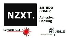 BLACK - NZXT - 2.5inch SSD/HDD SATA Hard Drive Cover Plate INTERNAL SOLID