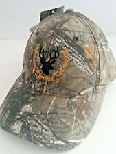 Realtree xtra Green Trophy buck deer embroidered Hat Cap adj  New hunting Dad