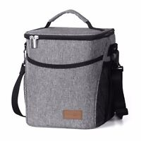 Lifewit Large Insulated Lunch Bag Waterproof Thermal Cooler Bag for Adults 9L