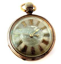 Bello RELOJ BOLSILLO ANTIGUO mecanismo raro Pocket Watch rare remontoir pendant