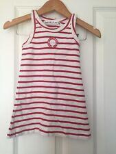 Weekend A La Mer Like Trotters Girls Striped Dress Age 18 Months