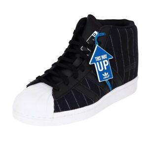 Adidas Superstar Up W Women's Shoes Black Hidden Heel Sneakers S79381 SZ 6.5 New