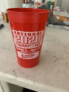 GALLETTES YELLOWHAMMER CUP ALABAMA CRIMSON TIDE 2020 NATIONAL CHAMPIONS RARE