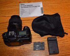 Nikon D50 6.1MP Digital SLR Camera w/ AF-S Nikkor 18-55mm f/3.5-5.6G VR Lens