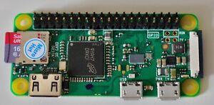 Raspberry Pi Zero W WiFi Bluetooth 16Gb MicroSD with Pi OS, HDMI & USB adapters