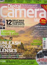 DIGITAL CAMERA WORLD MAGAZINE UK #168 SEPTEMBER 2015, WITH FREE GIFTS SEALED.