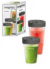 Magimix Blend Cups set 2 bicchieroni (400 -700ml) da passeggio per Power Blender