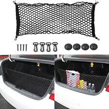 Universal Rear Luggage Cargo Trunk Storage Organizer Net Elastic plus Mounting