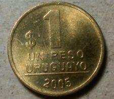 Uruguay 1 peso 2005