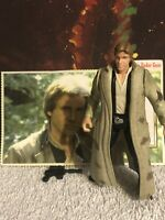 "Kenner Star Wars Action Figure POTF 3.75"" Han Solo in Endor Gear"