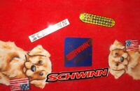 Old School  - Schwinn BMX Sticker Collection -  Lot of 4