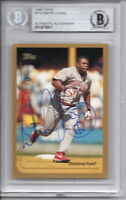 Dmitri Young Signed 1999 Topps - Beckett BAS