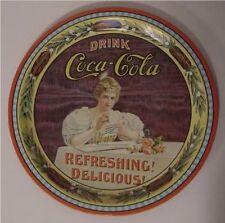 Coca Cola Tray 75th Anniversary Ohio Hilda Clark Coke Collectible